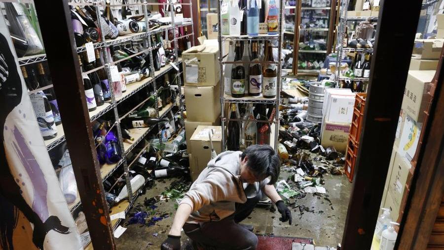 日本福岛东部海域发生7.1级地震