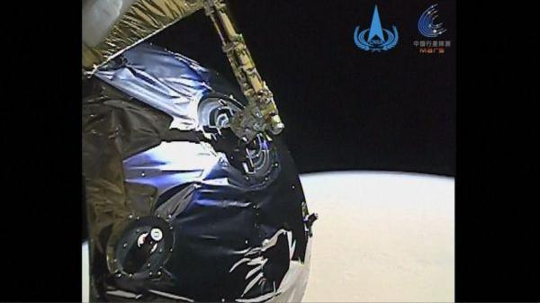 """外媒关注:中国首发""""天问一号""""火星视频"""