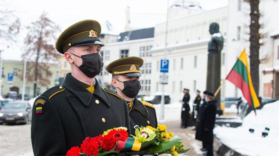 立陶宛庆祝独立103周年