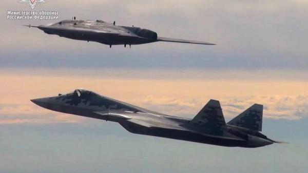 Su-57 S-70 1