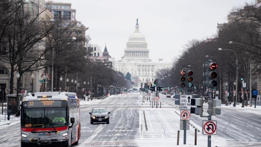 美国遭遇风雪天气