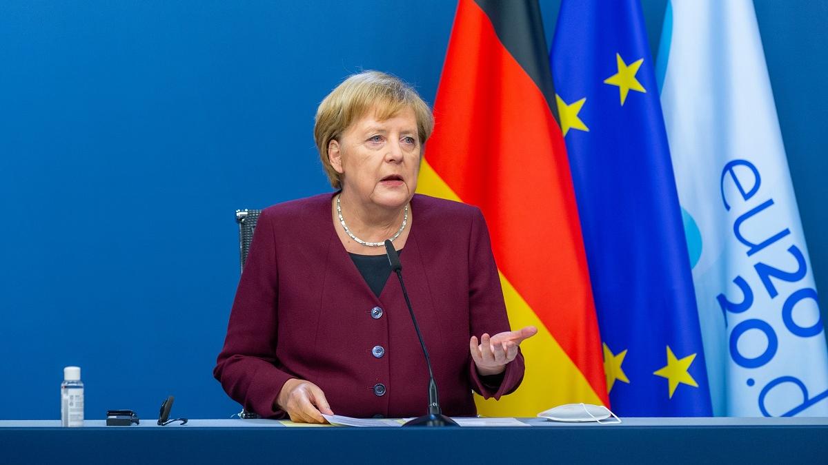"""欧盟与拜登对华表态不同调 默克尔称""""中国是合作伙伴"""""""