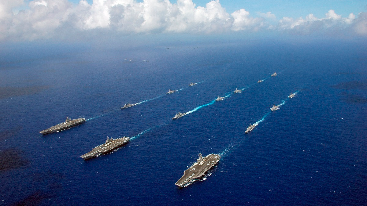 美媒评出全球军队前五强 前三:美俄中