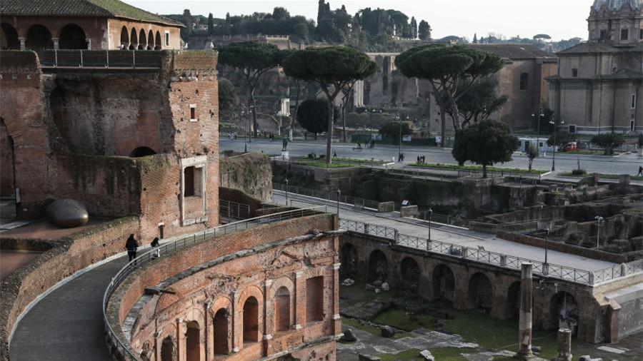 意大利罗马:疫情影响下的博物馆