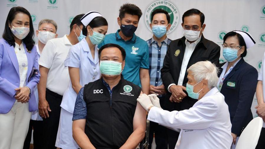 泰国开始接种中国新冠疫苗