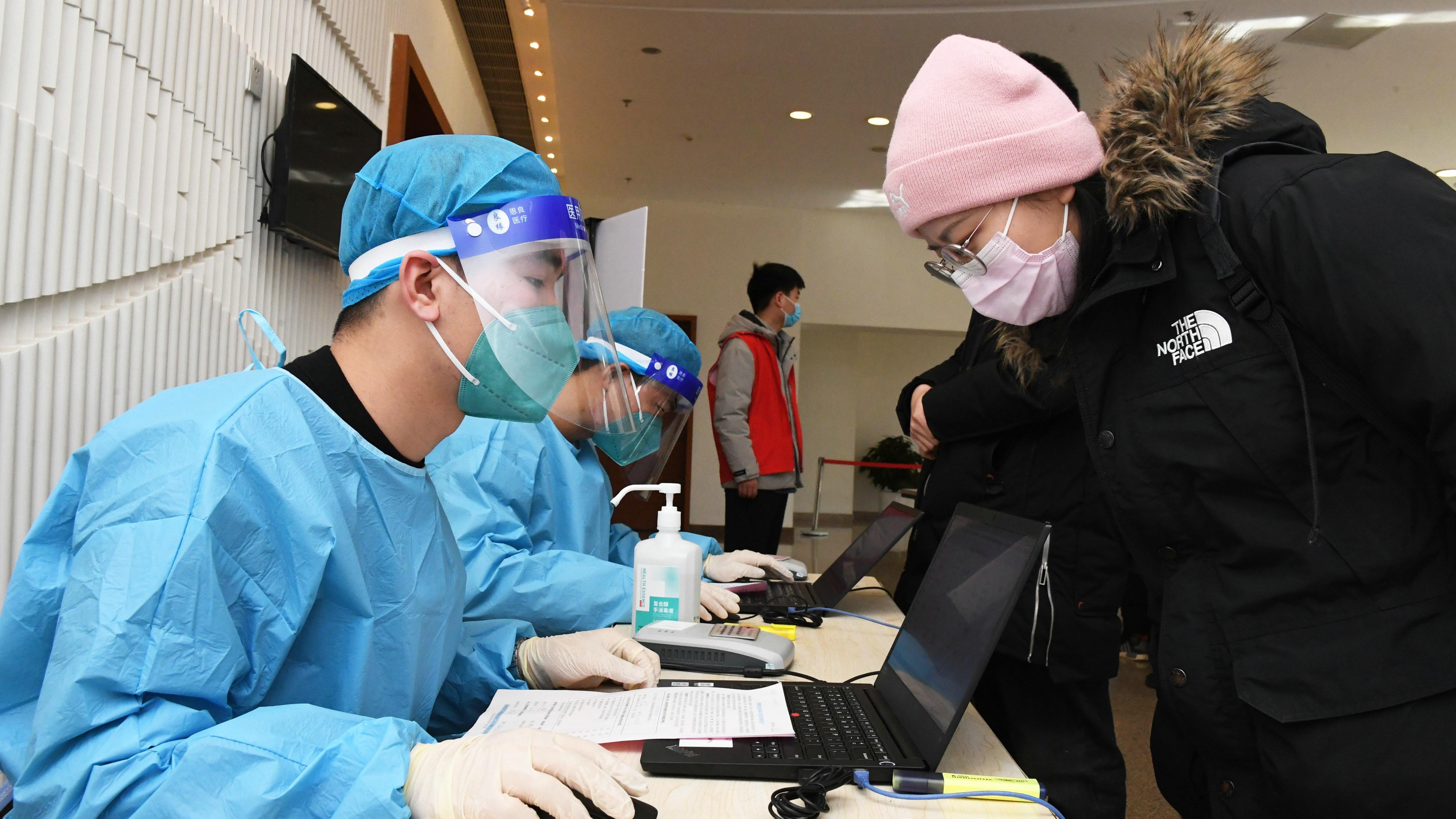 北京:新冠疫苗接种进校园