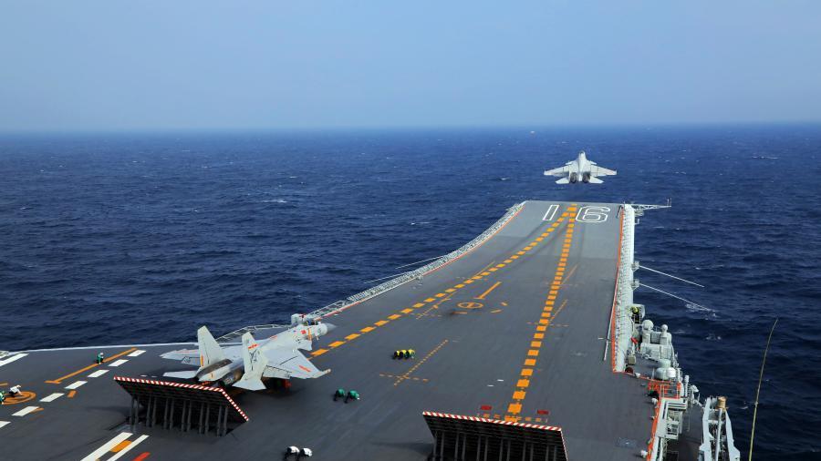 媒体关注美军发布美舰尾随辽宁舰照片