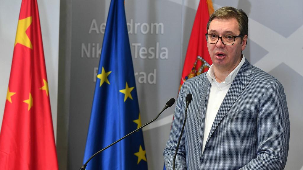 外媒:武契奇宣布将在塞尔维亚建厂生产中国疫苗