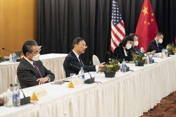这是杨洁篪在中美高层战略对话开场白中阐明中方有关立场。新华社发