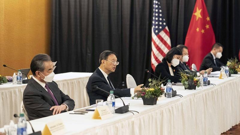 境外媒体关注:中美阿拉斯加对话直面分歧寻求共识
