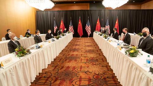 外媒综述:阿拉斯加对话展现中国新自信
