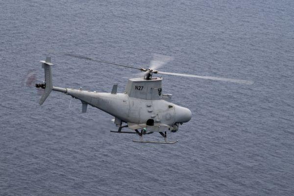美军 RQ-8 无人机