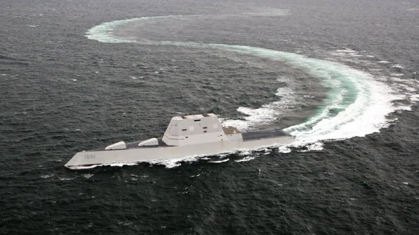 美军 隐身驱逐舰