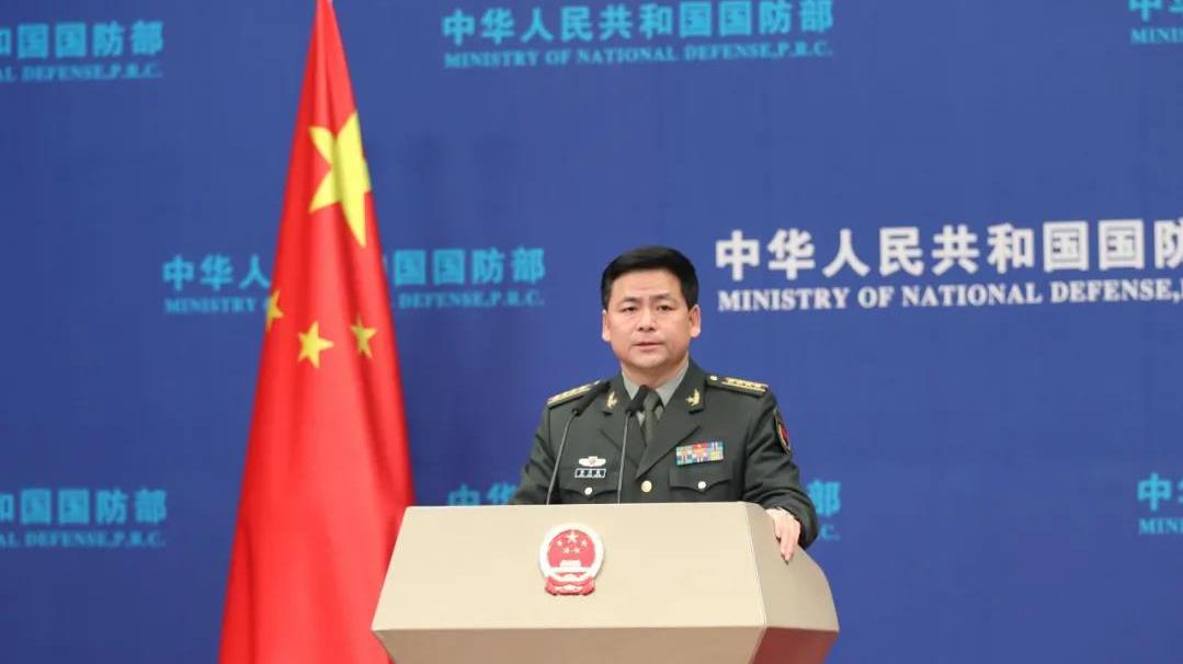 """国防部:中国不想""""威胁""""谁,但谁的""""威胁""""也没用"""