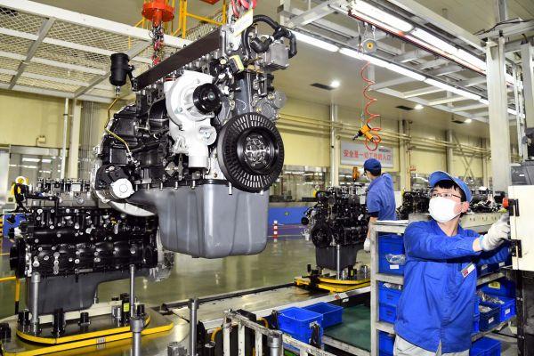 外媒:经济恢复动力强劲 中国制造业PMI升至三个月高点