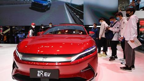 日媒关注:中国致力于EV半导体国产化