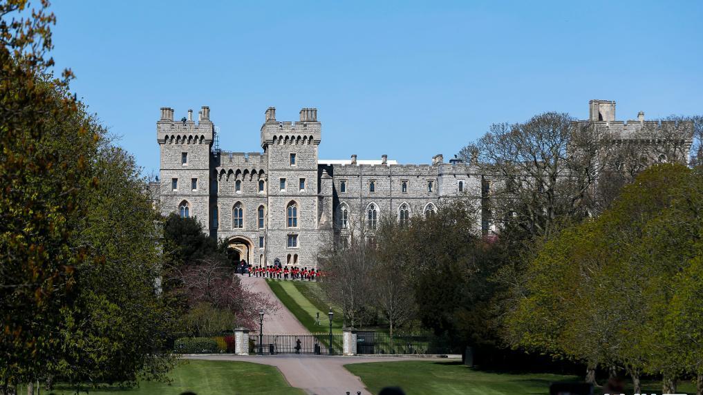 英國菲利普親王葬禮在溫莎城堡舉行