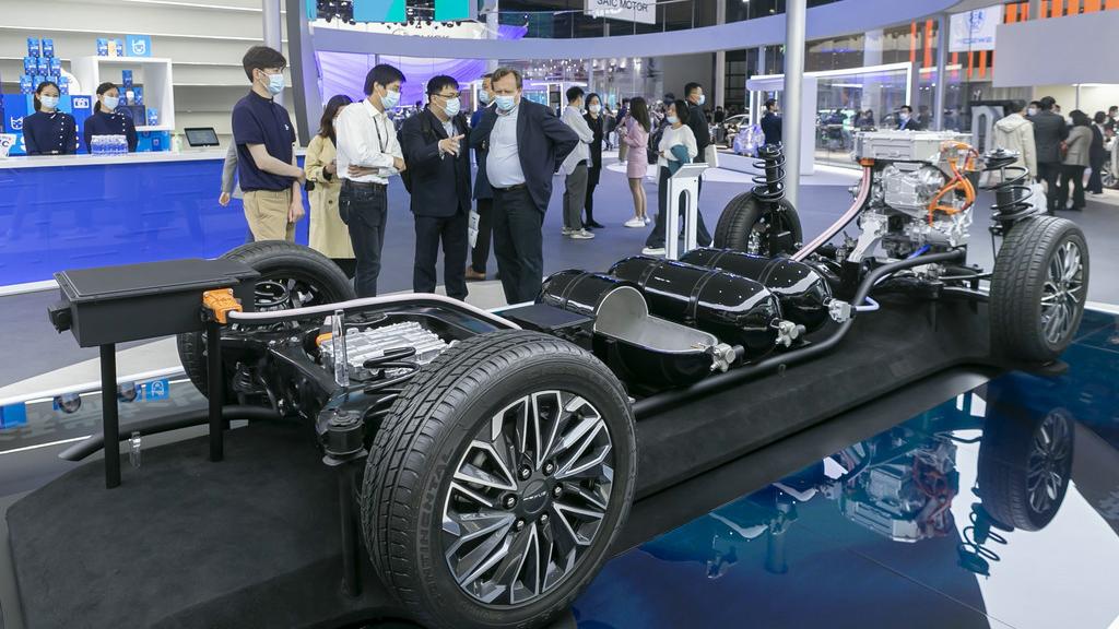 外媒:全球汽车商齐聚上海车展