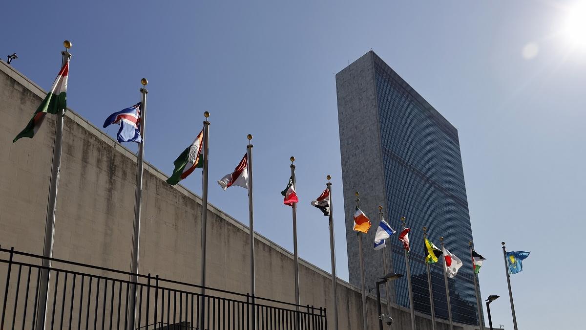"""美媒:联合国在""""四分五裂""""的世界中航行"""