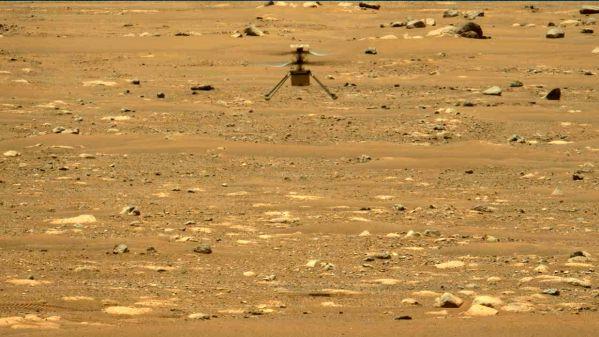 """外媒:""""机智""""号直升机在火星二次起飞"""