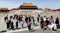 """外媒:中国""""五一""""旅游呈现井喷态势"""