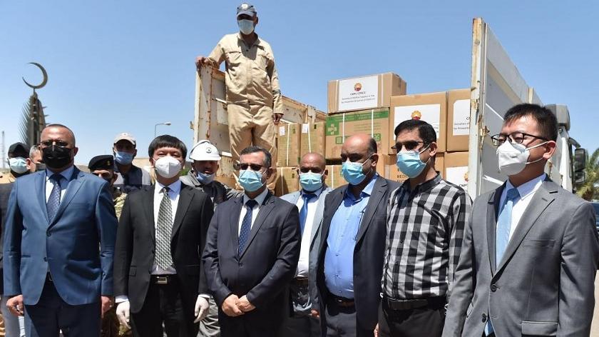 中国企业向伊拉克卫生机构捐赠防疫物资