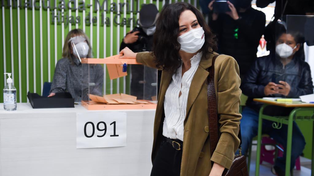 疫情下的马德里自治区选举