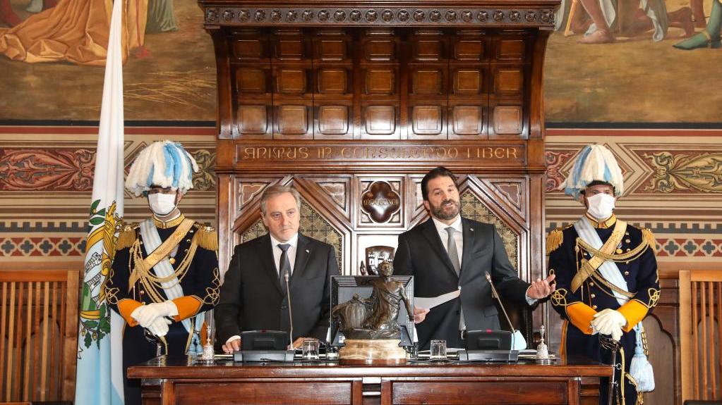 圣马力诺举办活动庆祝圣中建交50周年