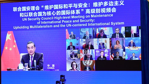 """境外媒体:王毅劝美为""""多边主义""""做出贡献 布林肯承认前任政府破坏国际规则"""