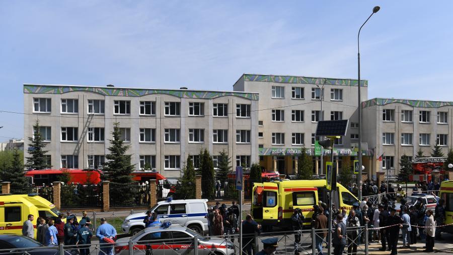 俄罗斯一学校发生枪击事件致9死10伤
