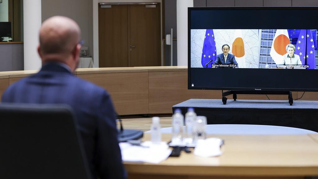 日欧联合声明首提台湾问题 我驻欧盟使团回应