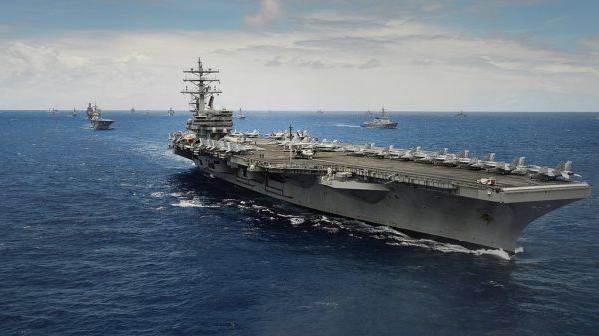 美航母调离亚太引发关注 美媒:全球部署捉襟见肘