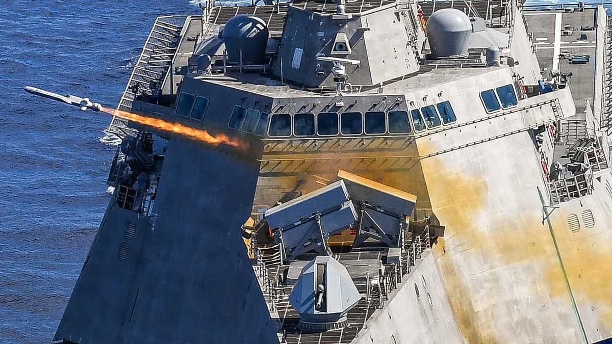 """美媒:美军开始追捧""""海上控制""""战略"""