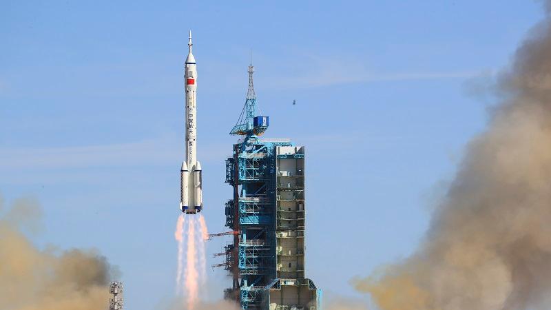 外媒热议神舟十二号|中国航天员入驻中国空间站 开启巡天之旅