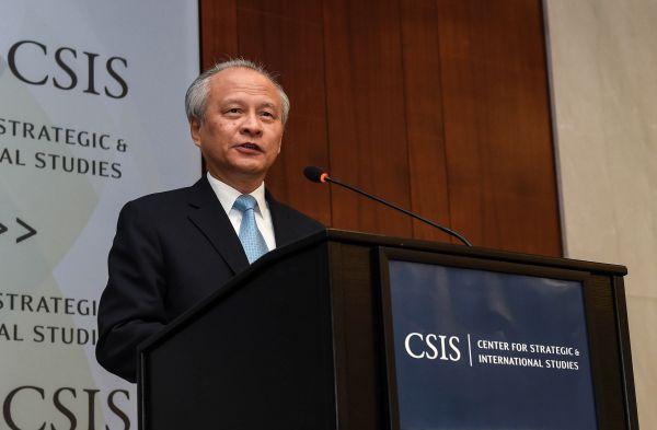 港媒:中国驻美大使崔天凯即将离任