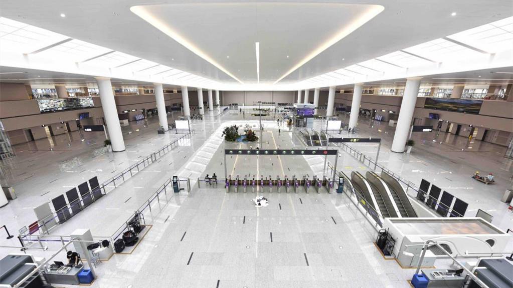 走進成都天府國際機場
