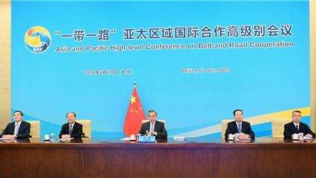 """中方强调亚太不是""""地缘政治棋局"""""""