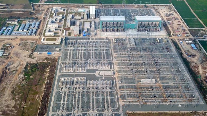中巴經濟走廊默拉直流輸電工程進入大負荷送電階段