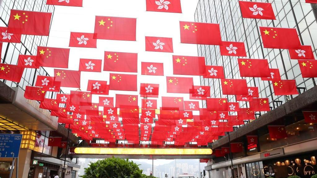 香港喜慶氣氛濃