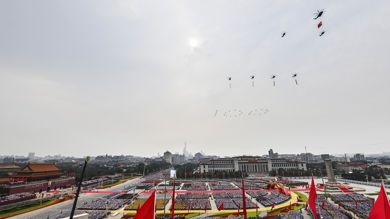 外媒关注:中国人自豪地庆祝党的生日