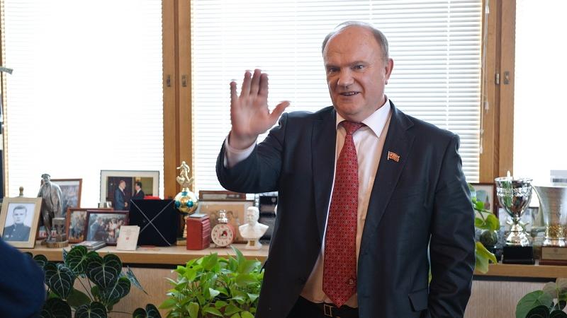 """俄罗斯共产党主席久加诺夫:中共走过""""奋斗与胜利的光荣之路"""""""