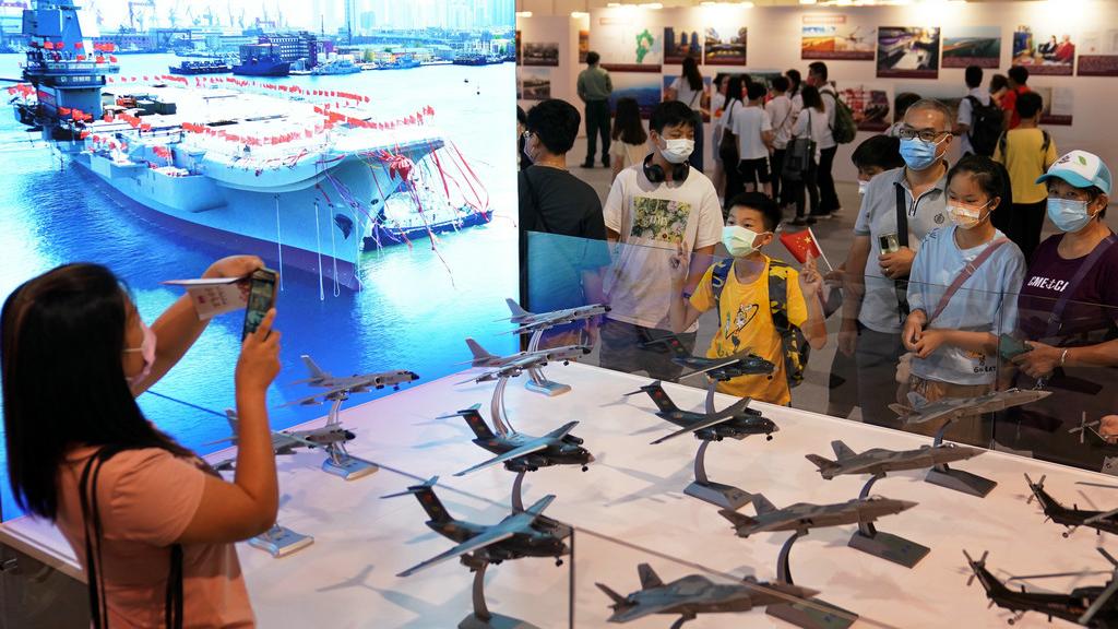 百年偉業——慶祝中國共產黨成立100周年大型主題展覽在港開幕