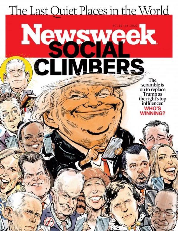 参考封面秀 特朗普之后,谁是美国社交媒体影响力之王?