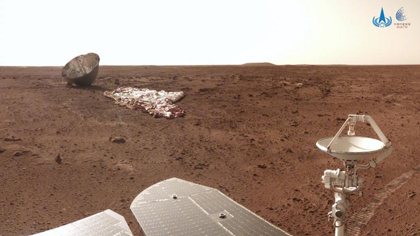来了!又一批火星美照