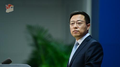 赵立坚:就算太阳从西边出来,中国人民也不会相信他们的鬼话