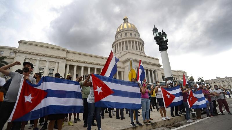 西媒:古巴抗议活动背后原因错综复杂
