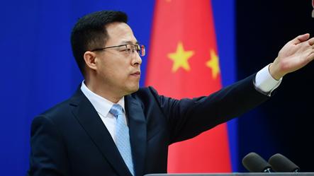 赵立坚:中国去得,美国为什么去不得?