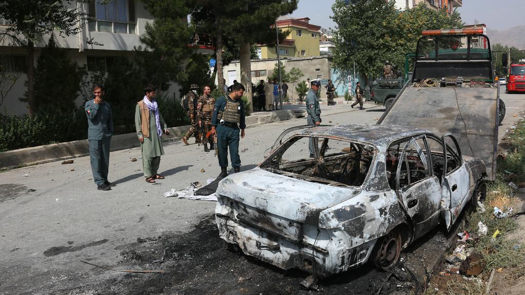 阿富汗首都遭火箭弹袭击