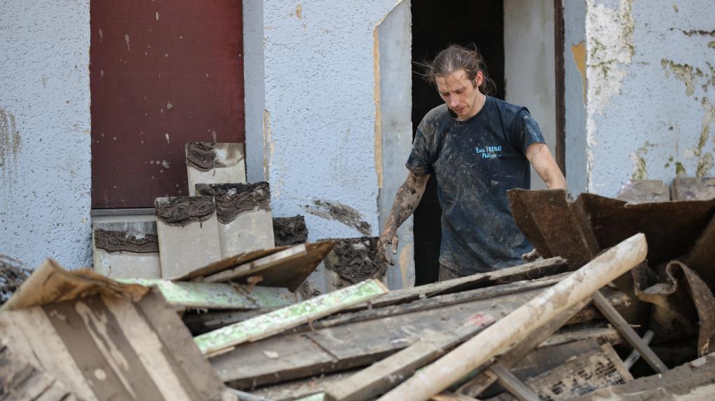 比利时:洪水过去后的重建