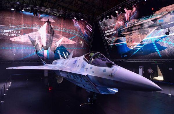 俄军 新 隐身战机 将军